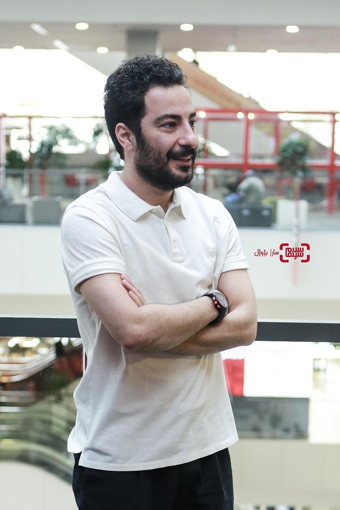 عکس نوید محمدزاده درروز اولسی و هفتمین جشنواره جهانی فیلم فجر