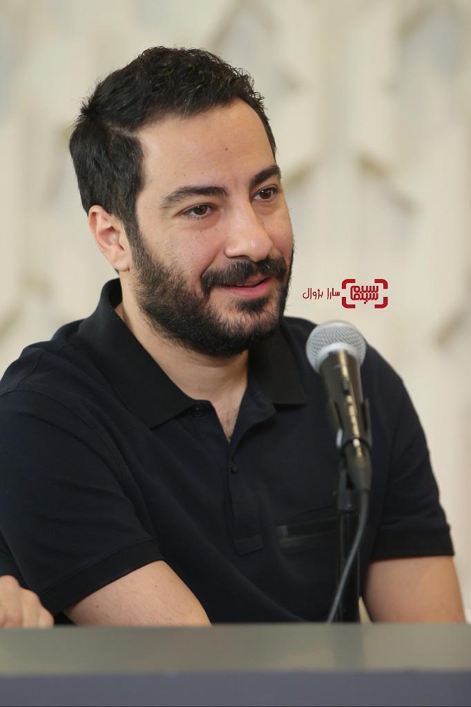 عکس نوید محمدزادهدر نشست خبری داورانسی و هفتمین جشنواره جهانی فیلم فجر