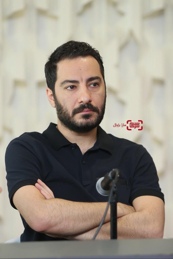 نوید محمدزادهدر نشست خبری داورانسی و هفتمین جشنواره جهانی فجر