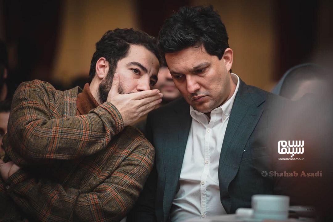 نوید محمدزاده - حامد بهداد - سیزدهمین شب منتقدان و نویسندگان