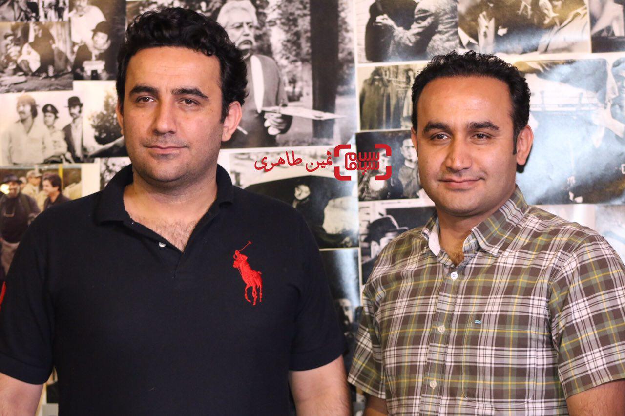 جمیشید و نوید محمودی در سومین جشن عکاسان سینمای ایران