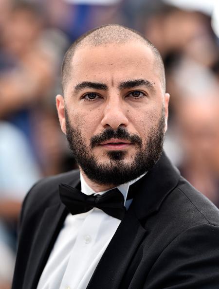 نوید محمدزاده در فتوکال فیلم «ناهید» در شصت و هشتمین جشنواره فیلم کن