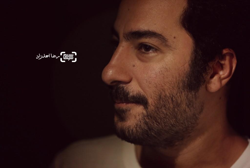 نوید محمدزاده در نمایشگاه عکسهای نوشین جعفری از فیلم «لانتوری»