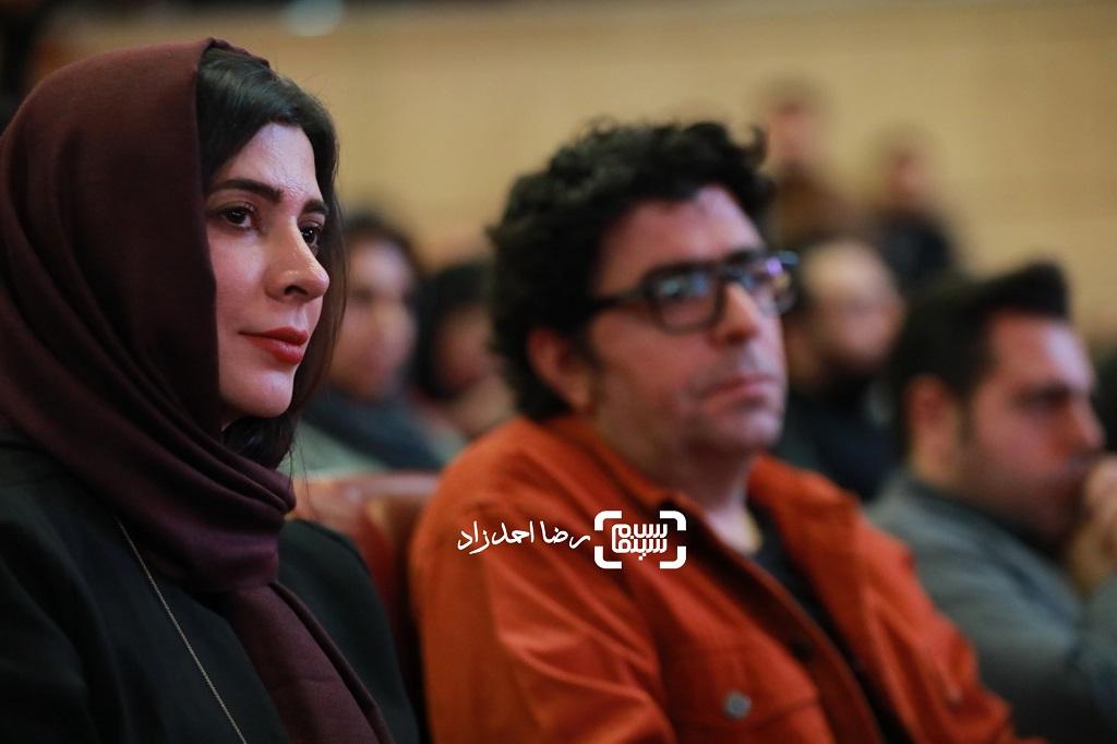 نازنین احمدی - گزارش تصویری - اختتامیه جشنواره فیلم فجر(بخش اول)