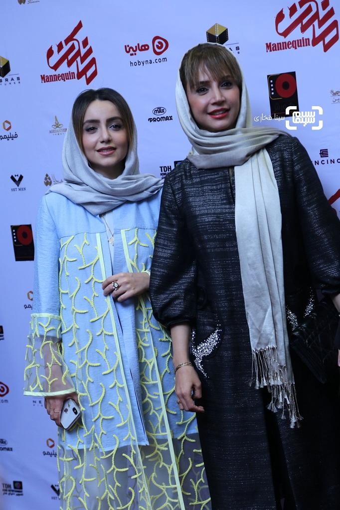 عکسنازنین بیاتی و شبنم قلی خانی اکران خصوصی سریال «مانکن»/ گزاش تصویری