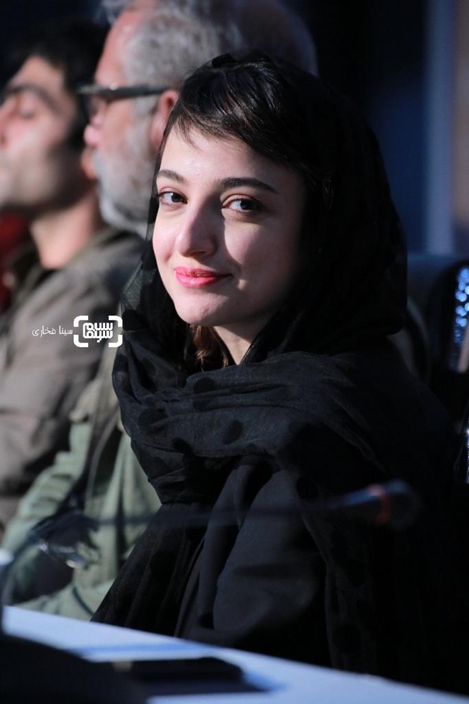 ندا جبرائیلی - گزارش تصویری - نشست خبری فیلم «دشمنان» - جشنواره فیلم فجر 38