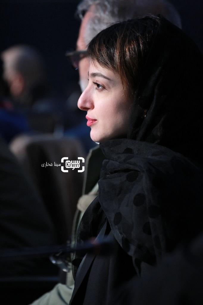 ندا جبرائیلی - گزارش تصویری - نشست خبری «دشمنان» - جشنواره فجر 38