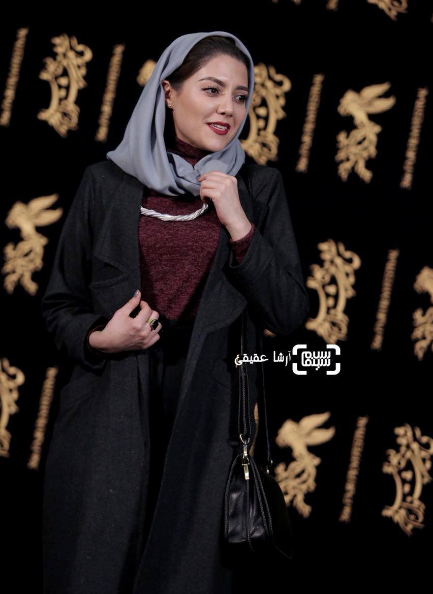 ندا عقیقی در نشست خبری فیلم «دارکوب» در کاخ رسانه جشنواره فیلم فجر36