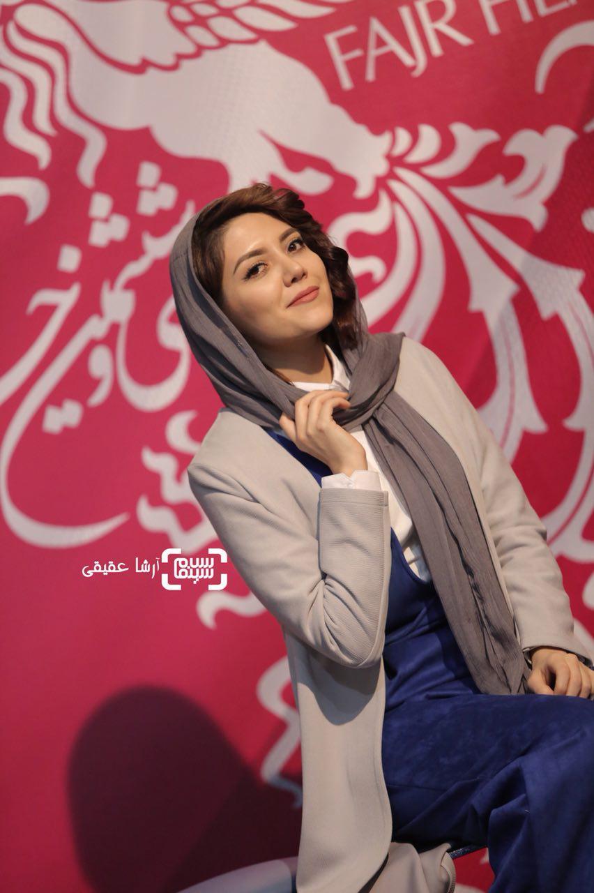 ندا عقیقیدر اکران فیلم «جشن دلتنگی» در سی و ششمین جشنواره فیلم فجر