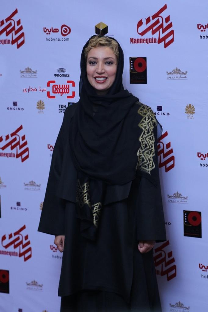 عکس نگار عابدی اکران خصوصی سریال «مانکن»/ گزاش تصویری