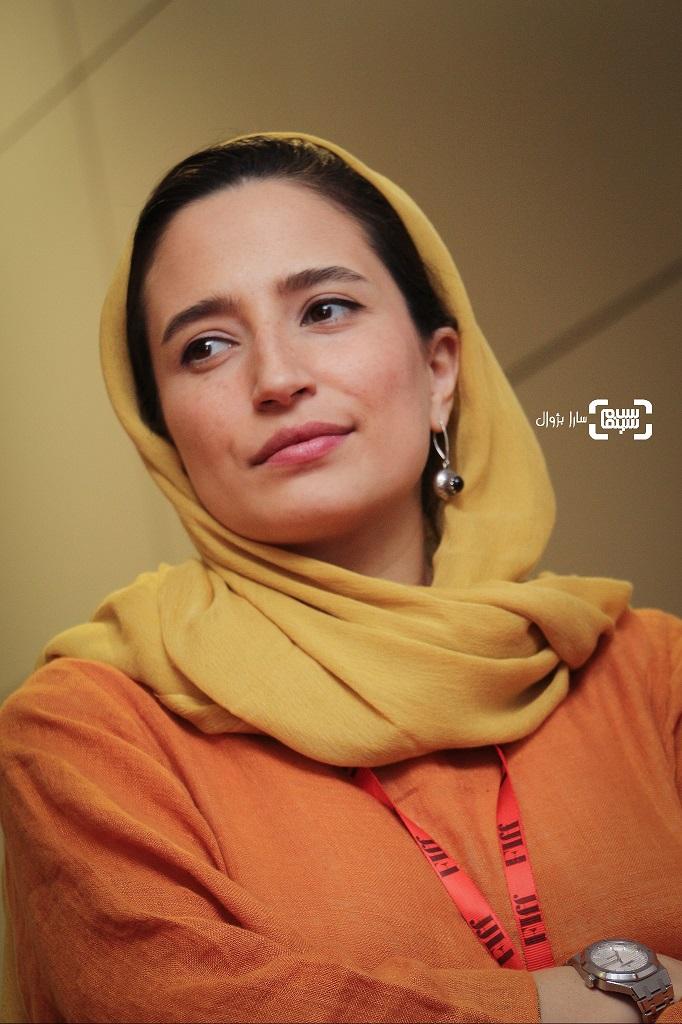 عکس نگار جواهریان در روز پنجم سی و هفتمین جشنواره جهانی فیلم فجر
