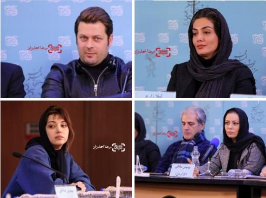 گزارش تصویری اکران و نشست فیلم خانه دیگری در جشنواره فجر 35