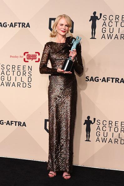 نیکول کیدمن برنده جایزه انجمن بازیگران فیلم ۲۰۱۸