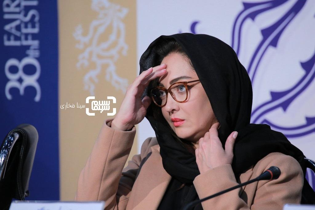 نیکی کریمی - گزارش تصویری- نشست خبری فیلم «آتابای» - جشنواره فیلم فجر 38
