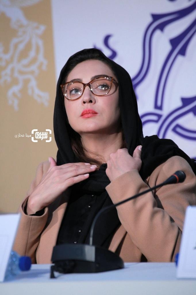 نیکی کریمی - گزارش تصویری- نشست خبری «آتابای» - جشنواره فجر 38