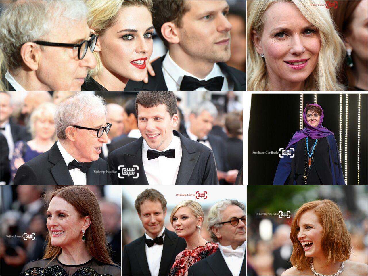 گزارش تصویری از افتتاحیه جشنواره فیلم کن 2016