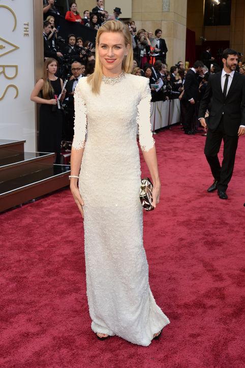 مد لباس زیبای نائومی واتس اسکار 2014