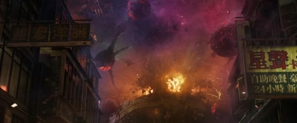 بهترین فیلم ها با فضای آخرالزمانی، نابودی بشر و زمین - دکتر استرنج (Doctor Strange)