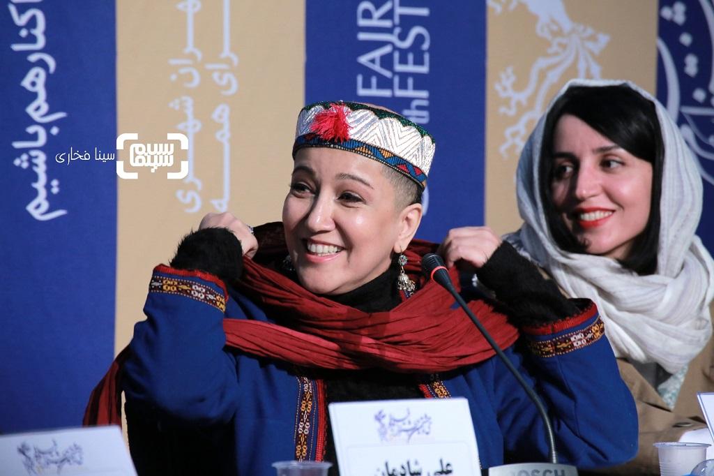 پانته آ بهرام - نشست خبری «شنای پروانه» در جشنواره فجر 38