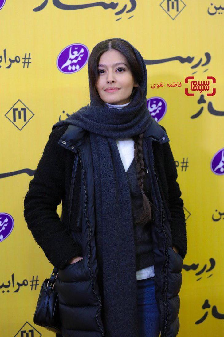 پردیس احمدیه در اکران خصوصی فیلم سینمایی «درساژ»