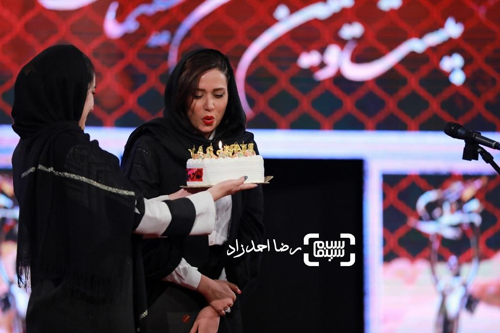 تولد سوپرایزی پریناز ایزدیار /  بیست و یکمین جشن خانه سینما/ گزارش تصویری 1