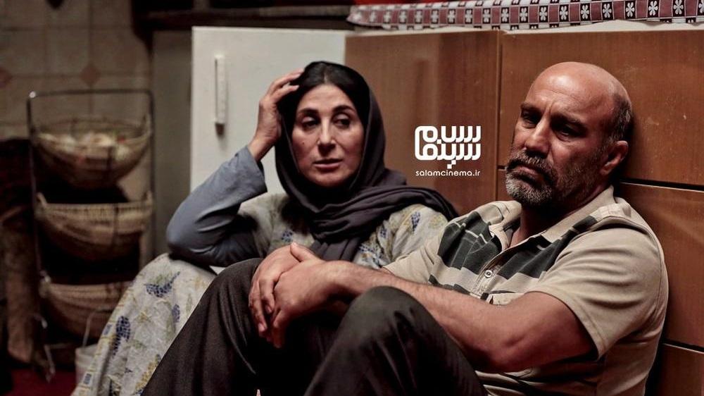 فاطمه معتمدآریا و محسن تنابنده در فیلم روزی روزگاری آبادان