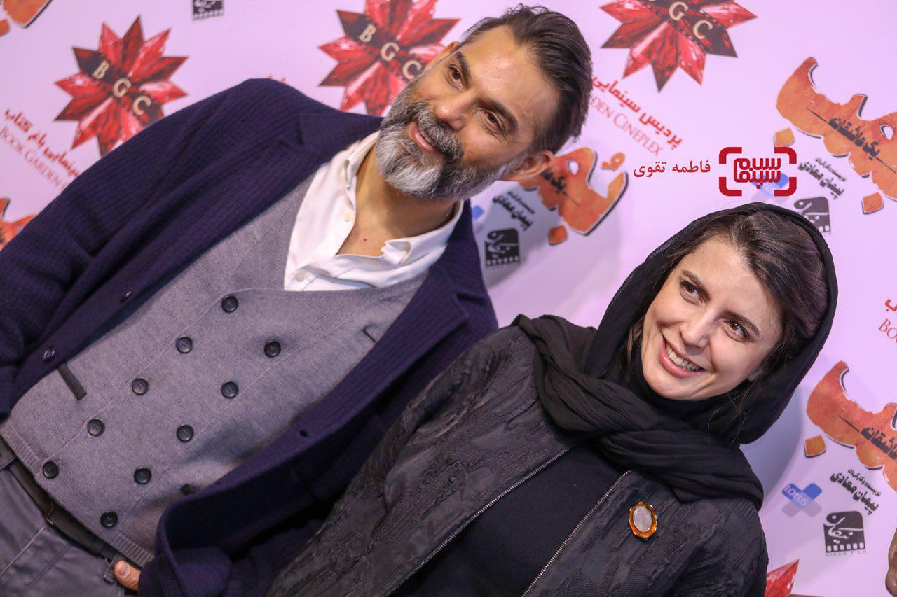 عکسهای لیلا حاتمی، پیمان معادی و همسرش و حبیب رضایی در اکران مردمی فیلم «بمب یک عاشقانه»