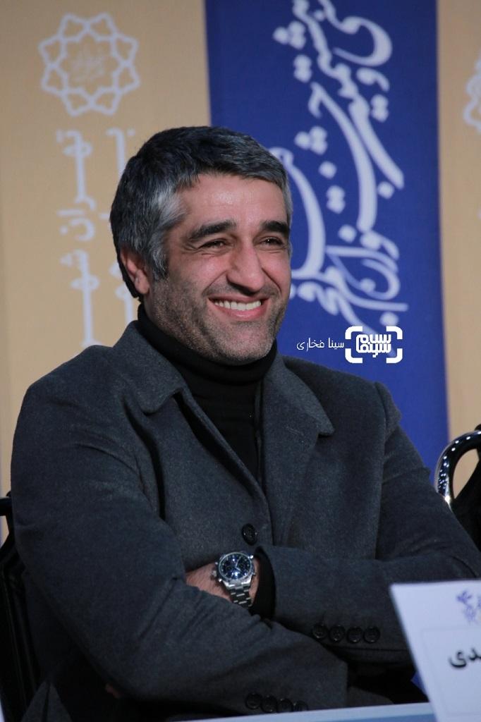پژمان جمشیدی - گزارش تصویری - نشست خبری فیلم «دوزیست» - جشنواره فجر 38