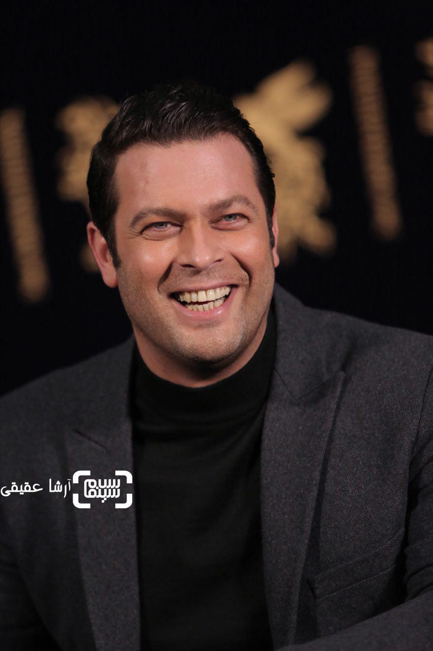 پژمان بازغی در اکران فیلم «هایلایت» در سی و ششمین جشنواره فیلم فجر