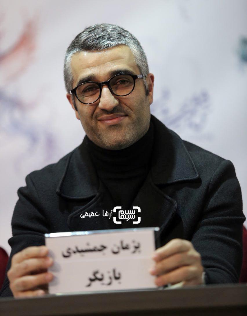 پژمان جمشیدی در اکران فیلم «سوءتفاهم» در کاخ رسانه سی و ششمین جشنواره فیلم فجر