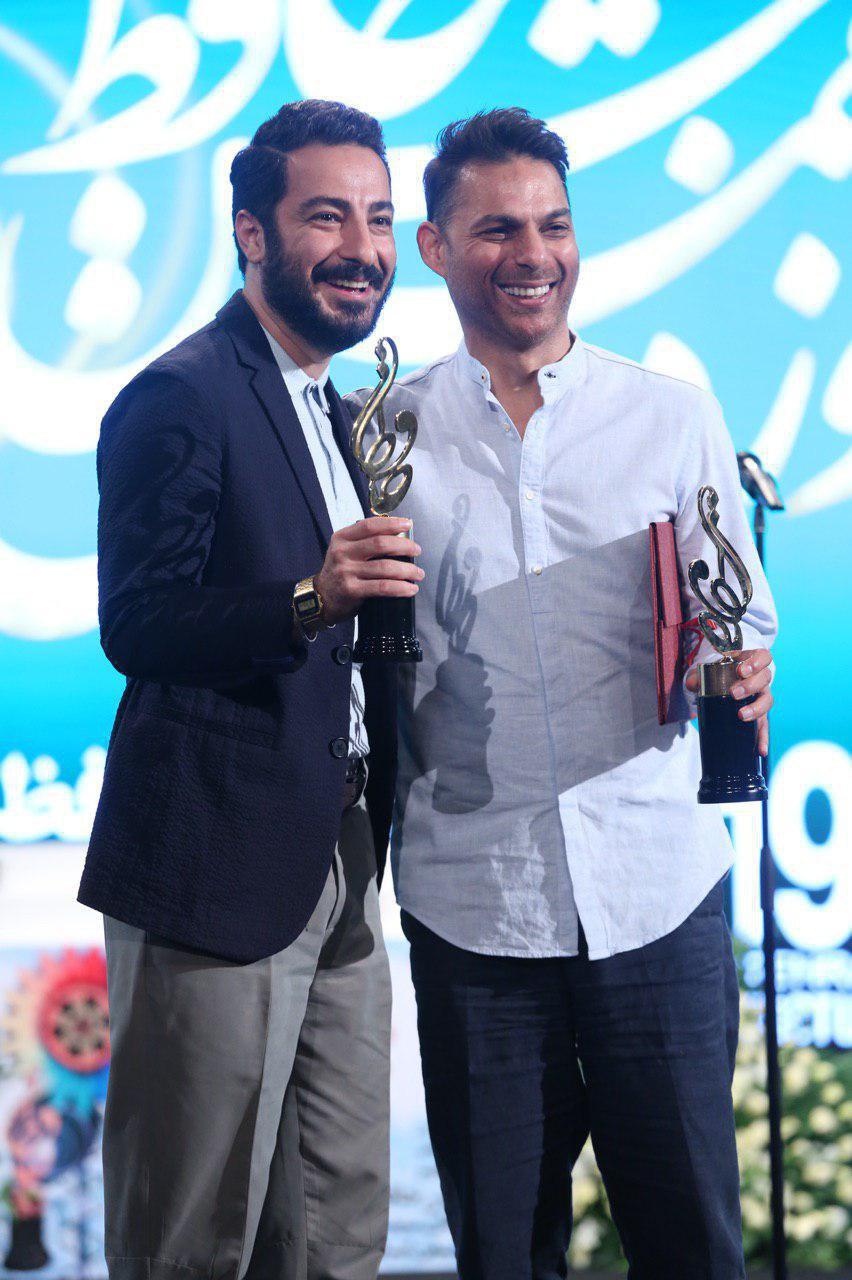 معادی  محمدزاده در جشن حافظ