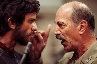 عکس فیلم چ- سعید راد و بابک حمیدیان