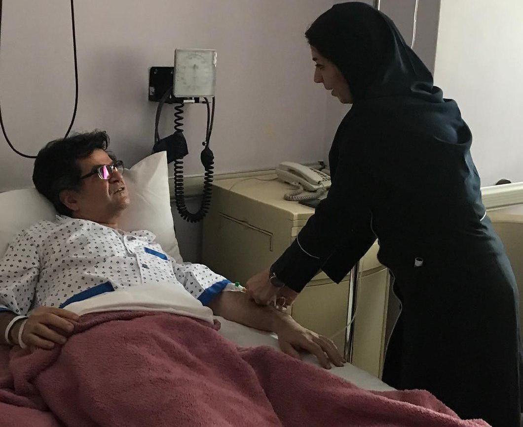جعفر پناهی در بیمارستان بستری شد/ واکنش رضا درمیشیان