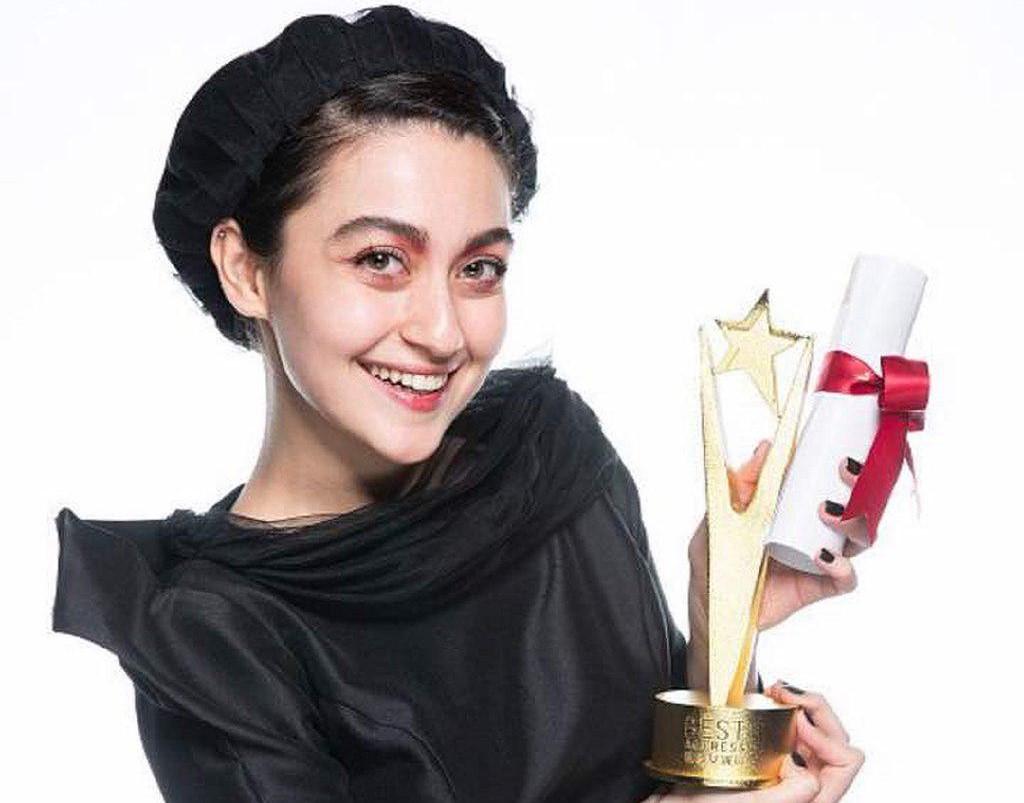 نگار مقدم برنده جایزه بهترین بازیگر زن فستیوال شانگهای