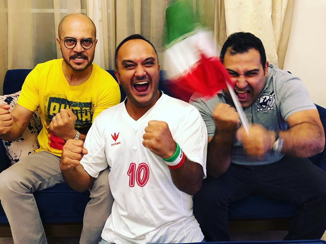 واکنش احسان کرمی به بازی ایران و پرتغال