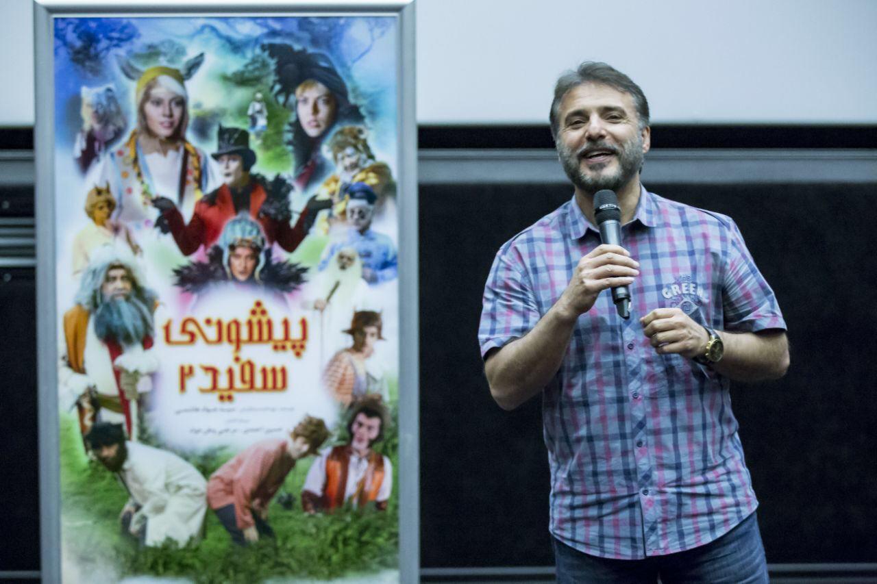 جواد هاشمی: پیشونی سفید را به عشق بچهها ساختم