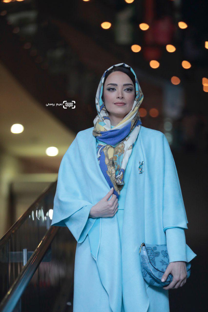 بهنوش طباطبایی در فتوکال فیلم «غلامرضا تختی» در سی و هفتمین جشنواره فیلم فجر