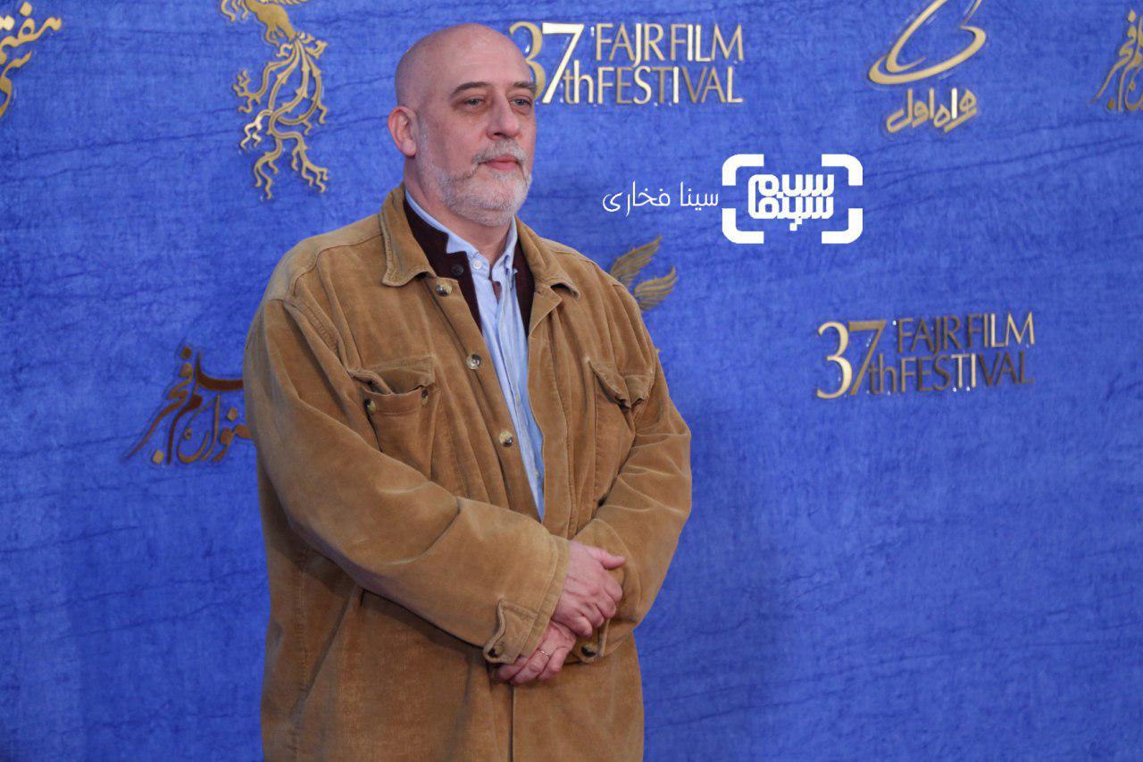 کریستف رضاعی در اکران فیلم «سال دوم دانشکده من»