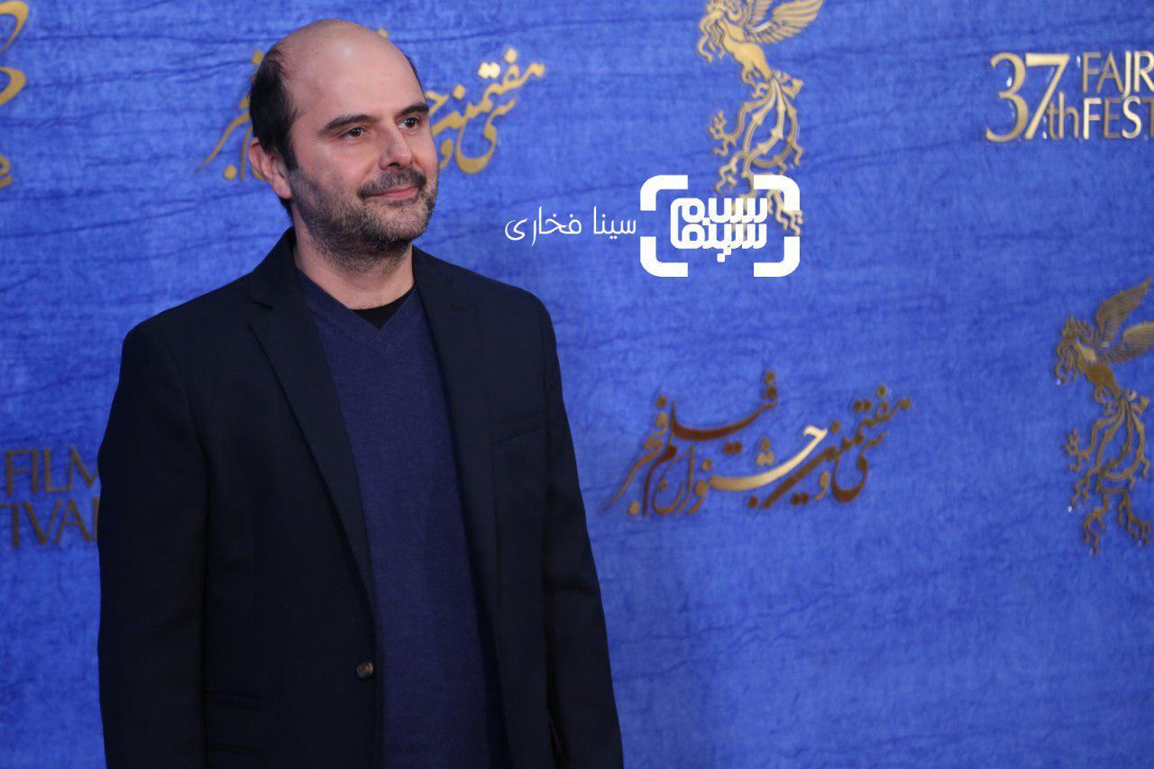 علی مصفا در اکران فیلم «سال دوم دانشکده من» در جشنواره فجر 37