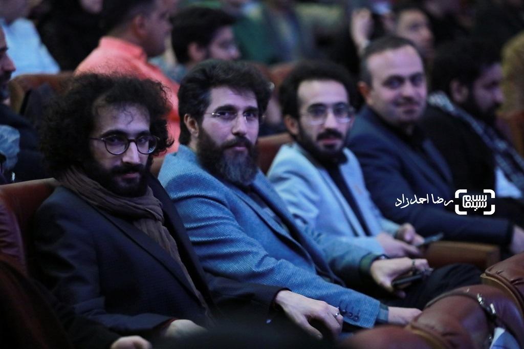 بهرام و بهمن ارک -مصباح - اختتامیه جشنواره فیلم فجر 38 - گزارش تصویری(بخش دوم)