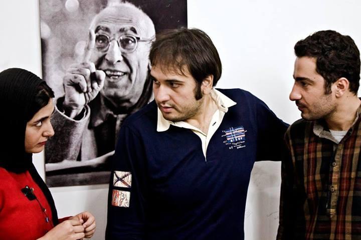 باران کوثری و نوید محمدزاده و رضا درمیشیان فیلم عصبانی نیستم