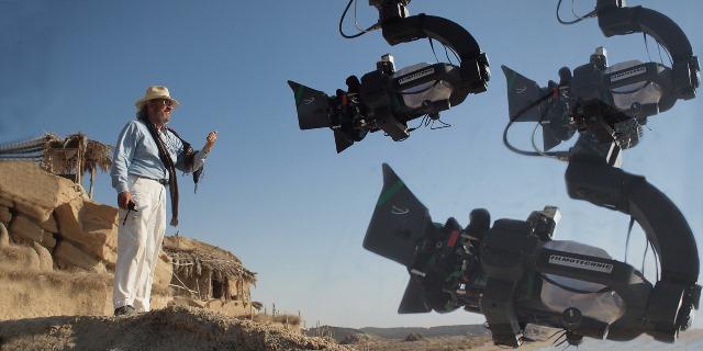 ویتوریو استرارو در پشت صحنه فیلم محمد رسول الله