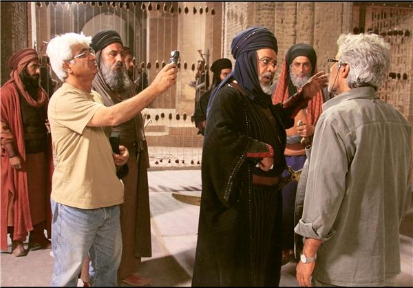 پشت صحنه فیلم رستاخیز احمدرضا درویش بابک حمیدیان