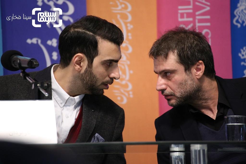 گزارش تصویری اکران و نشست فیلم «معکوس»/جشنواره فجر 37