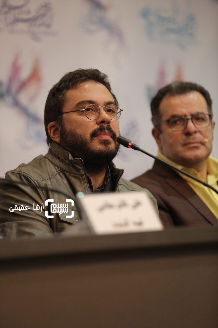 پوریا آذربایجانیدر اکران فیلم «جشن دلتنگی» در سی و ششمین جشنواره فیلم فجر