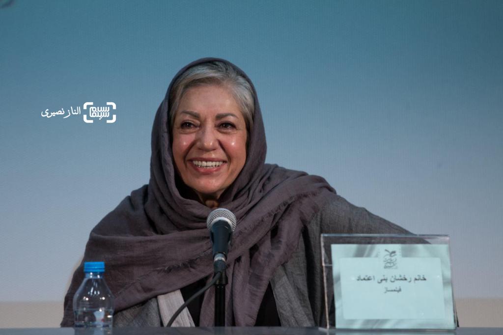 رخشان بنی اعتماد در نخستین جشنواره ملی فیلم سلامت