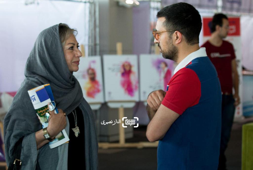 رخشان بنی اعتماد و اشکان خطیبی در نخستین جشنواره ملی فیلم سلامت