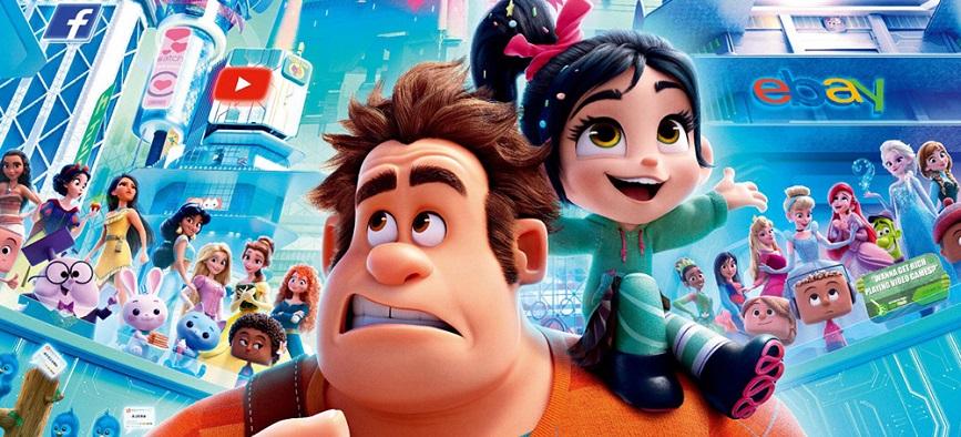 نگاه منتقدان به انیمیشن رالف اینترنت را خراب می کند