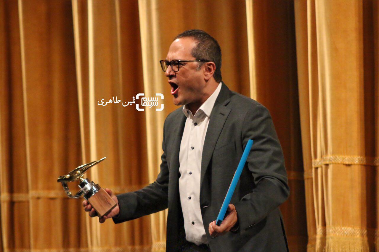 عکس رامبد جوان در نکوداشت جشنواره سما