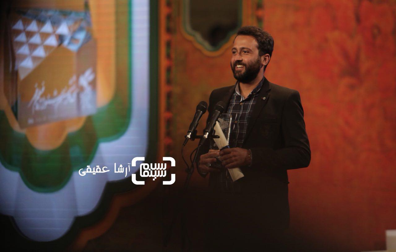 رشید دانشمند برنده سیمرغ بلورین صدابرداری برای «تنگه ابوقریب» از سی و ششمین جشنواره فیلم فجر
